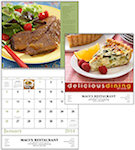 Delicious Dining Spiral Wall Calendars